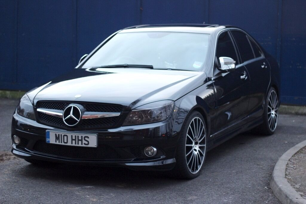 mercedes c220 amg line w204 c63 replica in camden london gumtree. Black Bedroom Furniture Sets. Home Design Ideas