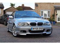 2005 BMW E46 330CI AUTO CONVERTIBLE 112K MILES! £10.000 SERVICE INVOICES! NEW MOT! FSH! 2 OWNERS!