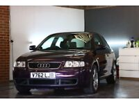 1999 Audi A3 1.8t sport, very clean for year in Audi exclusive Merlin purple.