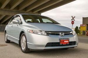 2007 Honda Civic Hybrid Only 68000km!!! Hybrid Langley Location!