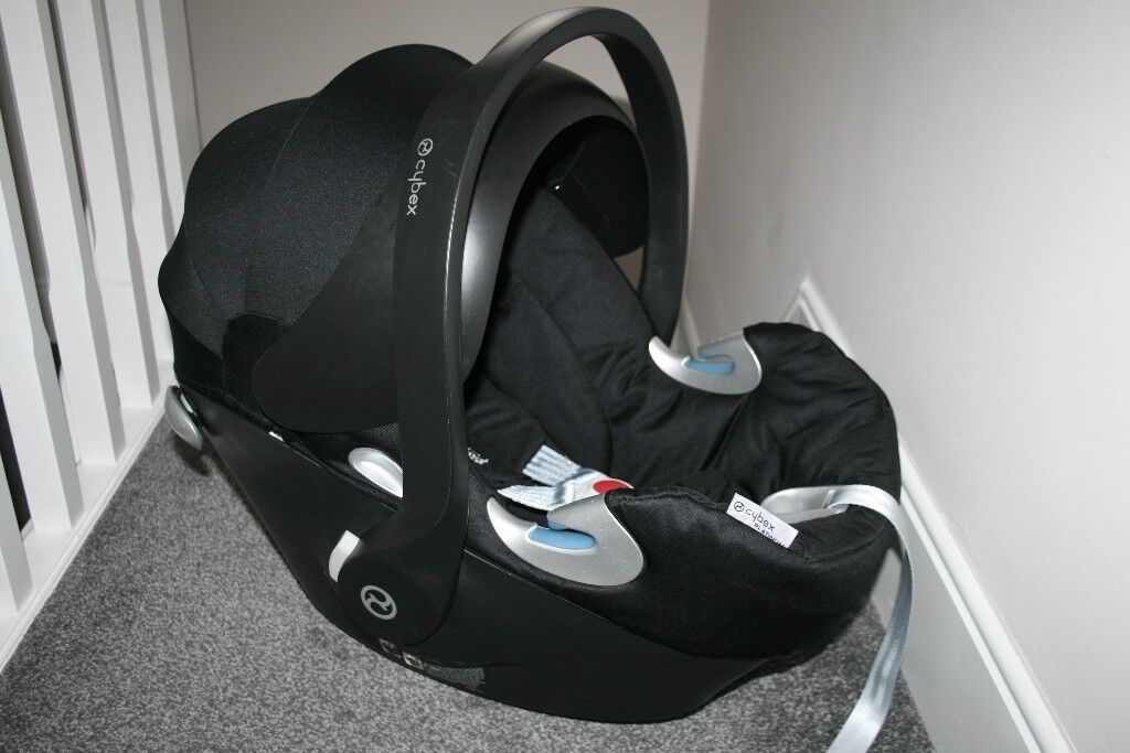 Mamas and Papas Cybex Aton Q Black baby car seat CAN POST | in Hull ...
