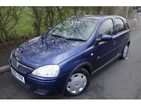 2005 VAUXHALL CORSA 1.3 CDTI DESIGN MODEL, 1 OWNER FROM NEW, £30 TAX, FULL HISTORY, HPI CLEAR