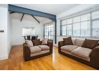 1 Bed recently refurnished Chocolate Factory *MASSIVE WINDOWS* *WRAP AROUND BALCONY* *OLD STREET*