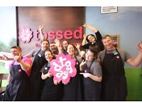 Full and Part time team member roles for Tossed London £7.25-£7.75!