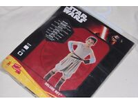 (BOOK DAY / WEEK) STAR WARS Ep7 Deluxe REY COSTUME Child Fancy Dress Up (Girls L - 7-8 years) - NEW