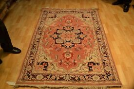 Kashmiri Rug Size: 1.95 x 1.23 mt