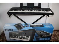 Yamaha electric Keyboard PSRE253 with stand excellent condition for sale