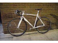 Charge Plug Fixie Single Speed bicycle w/optional extras!