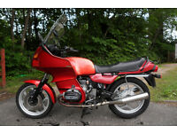 BMW R100RT Aircooled - totally rebuilt