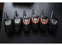 Cobra Radios x 6 (option to buy in pairs)