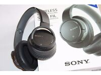 Sony MDR-ZX770BN Wireless and Noise Cancelling Headphones - Black - excellent condition