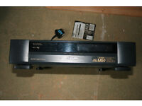 vhs video player/recorder