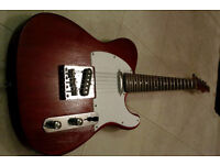 TELECASTER Electric Guitar Mahogony/ Rosewood neck tone monsterr
