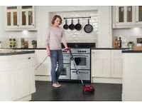 Ewbank floor polisher for any sealed hard floors, 2 microfiber polishing pads