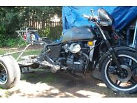 trike cx 500 p/x swap for motorcycle