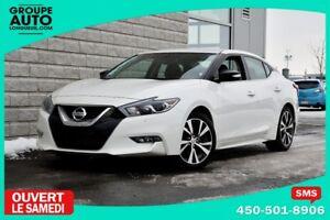 2017 Nissan Maxima *SV*CUIR*NAVIGATION*BLANC*CAMERA*APPLE CAR-PL