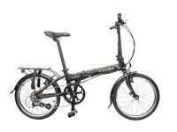 "Dahon Vitesse D8 20"" Wheel Folding Bike 8 Speed Black"