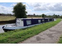 Recently Refurbished 62ft Cruiser Stern Narrowboat