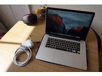 """MacBook Pro Retina 15.4"""", 512gb SSD, Intel Core i7 (Mid 2012)"""