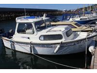 Boat Hardy 18 Navigator with 50HP outboard