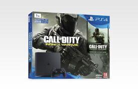 PS4 1tb like new call of duty fifa