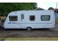 ACE Jubilee Aristocrat Caravan 4 Berth, Fixed Bed, 2007