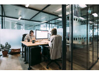 DESK SPACE IN A BEAUTIFUL PERIOD BUILDING FOR RENT IN UPPER GROUND, SOUTH BANK-LONDON