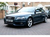 AUDI A4 2.0 TDI S LINE AUTOMATIC 4 DOOR SALOON FSH HPI CLEAR EXCELLENT CONDTION