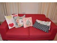 Red Sofa : LAST OFFER : GRAB IT SOON