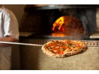 Pizza pizzaiolo chef stone wood gas start now in London
