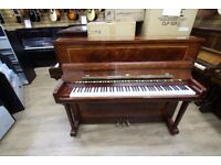 Rogers Sheraton Inlay Upright Polyester Piano at Sherwood Phoenix Pianos