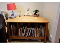 Sitetable/bookcase