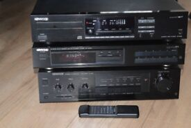 KENWOOD AMP200W/CDPLAYER REMOTE/TUNERPLAY IPODPHONE CANSEE WORKING