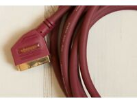 Vivanco Gold Plated Scart Cable (5m)