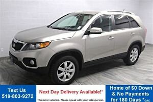 2012 Kia Sorento AWD! HEATED SEATS! BLUETOOTH! STEERING RADIO CO