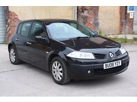 2008 RENAULT MEGANE DUNAMIQUE 1.6 AUTO, PETROL, ONLY 49K, P/X TO CLEAR, SPARES OR REPAIR, NO MOT!!!