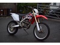 Honda CRF 250 X 2008 Road Legal Enduro CRF250X