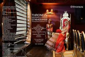 THRONE CHAIRS FOR HIRE / SALES 💯% - 07464054406