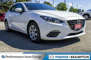 2015 Mazda MAZDA3 GX|KEYLESS|BLUETOOTH|MP3|CD|BUCKETS|PWR STEERI
