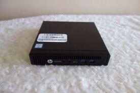 RRP £1199 Brand New HP Intel i7 6th Quad Core 256GB SSD HDMI Elite desk 800 Mini Desktop PC Computer