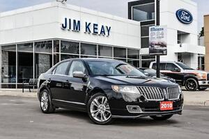 2010 Lincoln MKZ FWD W/MOONROOF, SPORT PACKAGE & DUAL ZONE CLIMA