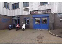 Bike Shop and Showroom to Rent