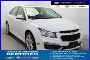 "2015 Chevrolet CRUZE 2LT RS Turbo *NAV TOIT MAGS 18"" JUPES*"