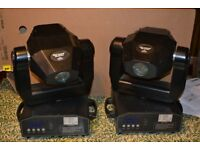 2 Moving Heads Chauvet Mini Legend DMX-425