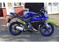 Yamaha yzf r125 (2013) Delivery Available