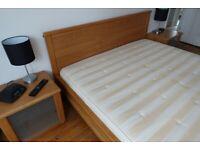 Ikea Askedal Kingsize Bed & Sultan Hasselback Mattress