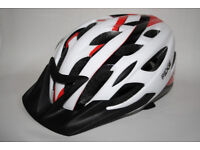 Ridge Road Rider Bike Bicycle Cycling Air Helmet in Red Whiter 54-59cm Used ONCE for sale  Hampshire