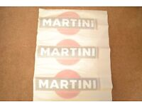 Le Mans Martini Racing style Stripe and Logo Set Sticker decal