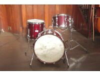 Drum Kit: Yamaha Recording 9000 Cherry Red