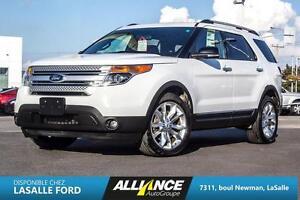 2013 Ford EXPLORER XLT XLT-GPS-CAMERA-BANC CHAUFF-TOIT PANO-BLUE